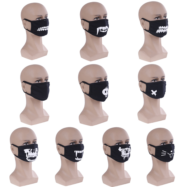 Cute Anime Mouth Muffle Face Mask Emotiction Masque Cartoon Kpop Masks Anti Dust Mask Kpop Cotton Mouth Mask 11 Styles 5