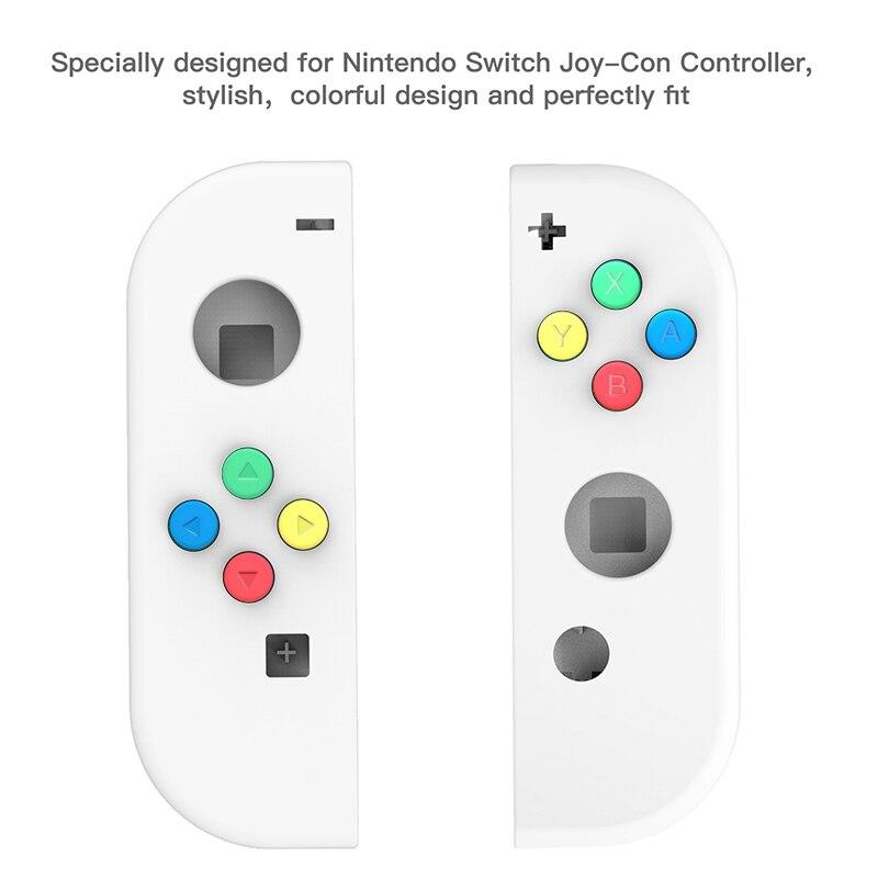 Escudo do interruptor da substituição de myriann para nintend switch ns game console alegria con com 8 cores