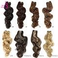 Настоящая красота, Платиновые светлые бразильские волнистые волосы, волнистые пучки 12-28 дюймов, высокопрочные волосы для наращивания без п...