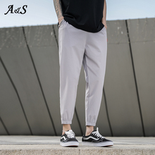 Harem-Pants Trouser Track Joggers Man Loose Male Men Casual for Streetwear