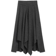 Faldas de e a-linesfalda