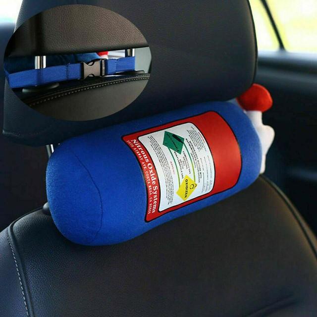 Trwały NOS tlenek azotu butelka kształt zbiornika poduszka pluszowa zabawka samochód artykuły domowe TP899 tanie i dobre opinie CN (pochodzenie) Pościel Podróży Dekoracyjne Other Drukuj Poliester bawełna Chłodzenia Inne NECK Kwalifikacje pillow