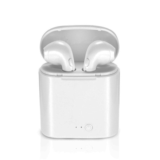 i7s Tws Wireless Bluetooth Earphones Mini Stereo Bass Earphone Earbuds Sport Headset with Charging Box for iPhone Xiaomi Huawei 1