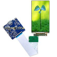 Wisecoco 2160x3840 5.5 inch 4K LCD panel mudule HDMI MIPI board DLP SLA Wanhao D7  3D printer /VR/ AR/ HMD/ Headset Projector 2560x1600 8 9inch lcd screen display with hdmi mipi driver board kit for diy for wanhao duplicator 7 dlp sla 3d printer vr glass
