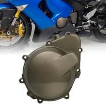 Motocykl nowa lewa strona pokrywa stojana silnika skrzynia korbowa dla Kawasaki Ninja ZX6R ZX636 ZX 6R 636 2005-2006