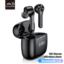 Bluetooth 5.0 Touch Wireless Earphone LED Display TWS Headphones HIFI in Ear Dee