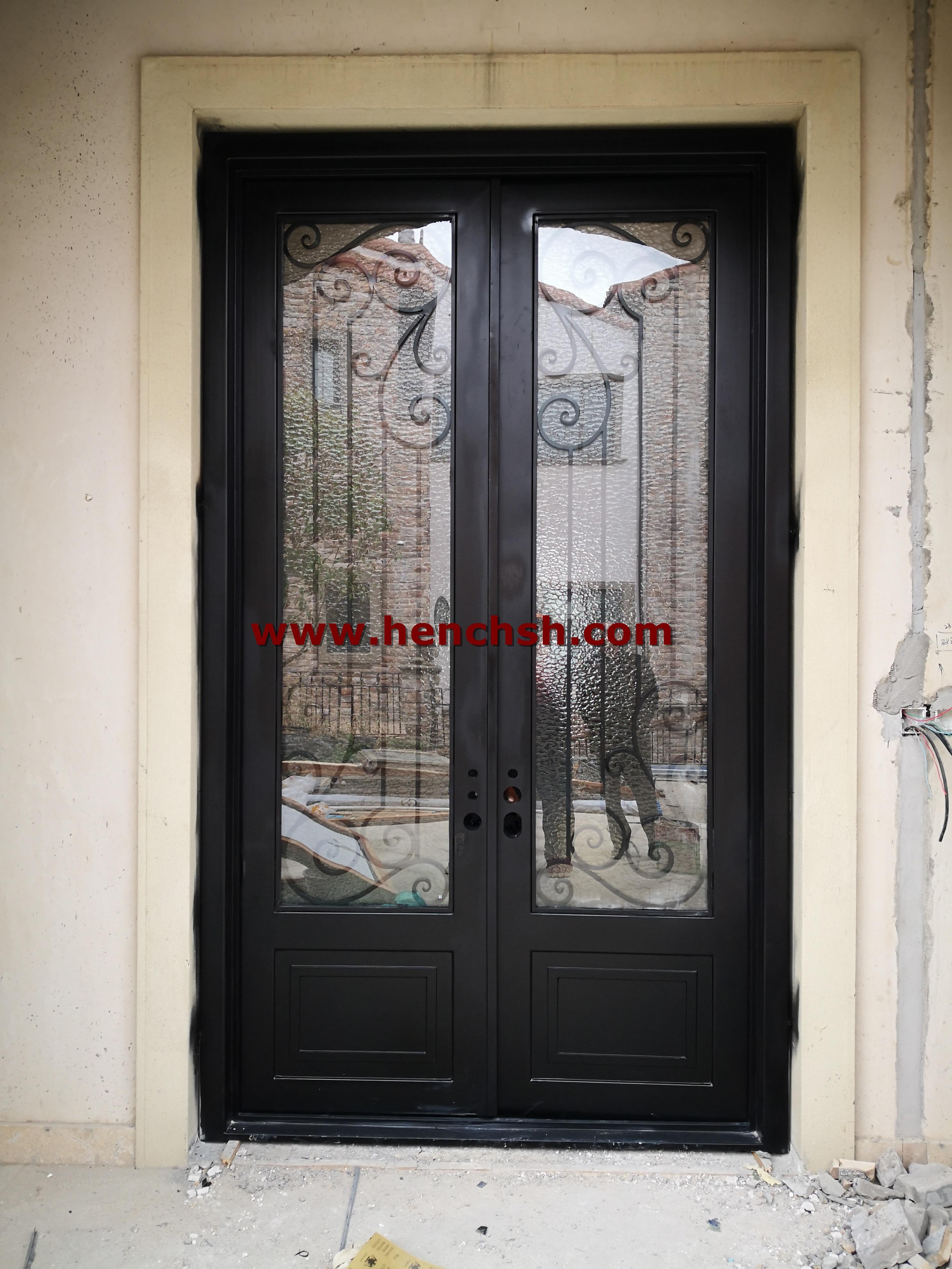 Hench Top Brand Steel Iron Front Doors