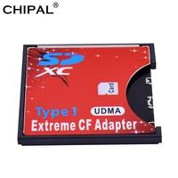 CHIPAL UDMA MicroSD SD a tarjeta CF adaptador MMC Micro SD SDHC SDXC estándar Tipo de convertidor de tarjeta de lector de tarjetas para la cámara