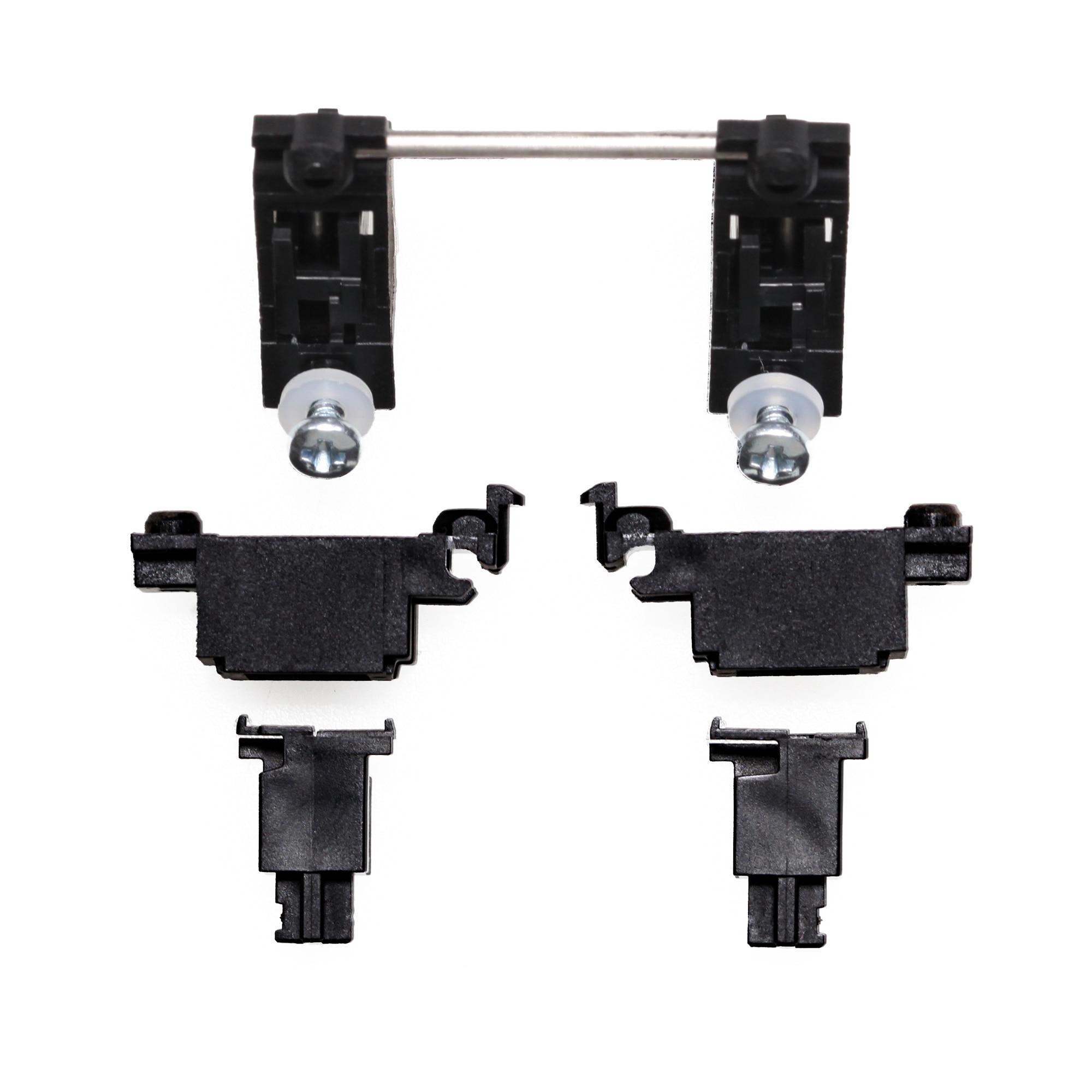Cherry Original Black PCB Mount Screw In Stabilizer For Custom Mechanical Keyboard Gh60 Xd64 Xd60 Xd84 6.25x 2x 7x Rs96 87