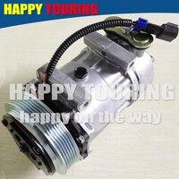 Nova 7H15 AC Compressor w/Embreagem para Sanden 4039 4424 4731 Kenworth Peterbilt 43554039 48844039 78595 5362 F696001122 F696002121
