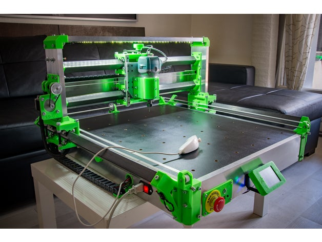 RS-CNC32 Created By Romaker, Without Printed Parts And Router,Black One.