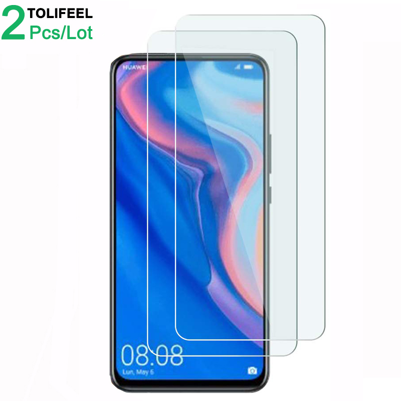 2Pcs Tempered Glass For Huawei Y9 Prime 2019 Screen Protector 9H 2.5D Phone On Protective Glass For Huawei Y9 Prime 2019 Glass