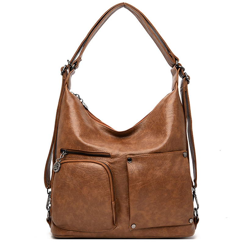 Sac A Dos Leather Back Pack Luxury Handbags Women Bags Designer Handbags High Quality Ladies Hand Shoulder Bags For Women 2019