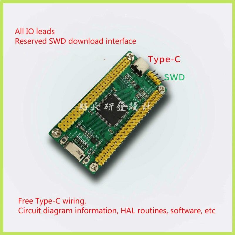 Stm32h750vbt6 Development Version Stm32h750 Core Board Minimum System Stm32h7 Exceeds Stm32f7