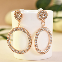 Fashion Charm Silver Rose Gold Hoop Earrings for Women Jewelry Orecchini Donna Pendientes Hombre Boucle D'oreille Femme 2019