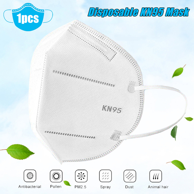 20pc kn95 filter respirator face mouth masks protective flu facial dust shield template pm2.5 mask n95 ffp2 ffp3 kf94 kf94 n 95 2