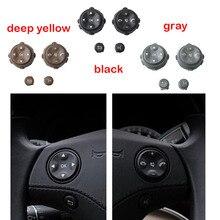 カースタイリング多機能ステアリングホイールキーボタン電話キー制御ボタンのためのメルセデスベンツ W221 S CLASS S280 S300 s350 S400