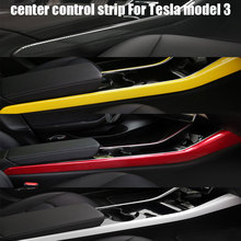 Cover Side-Trim-Accessories Tesla-Model Carbon-Fiber Protection for Y Three ABS