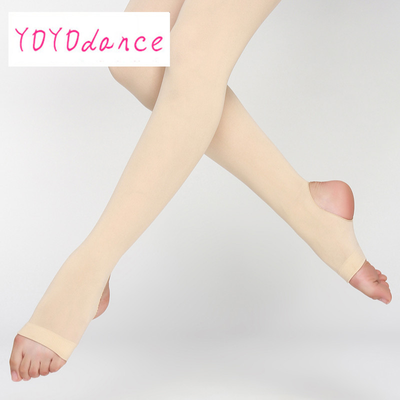 New Women Stirrup Tights Dance Ladies Leggings Adult Panty Hose Professional Ballet Dancing Ballerina Stocking Tights
