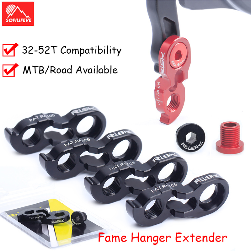 Mountain Bike Frame Hanger Extender Fit for 34-52T <font><b>Cassette</b></font> for Road Bike MTB <font><b>Cassette</b></font> New Design for <font><b>11</b></font>-46T <font><b>Cassette</b></font> <font><b>11</b></font> Speed image