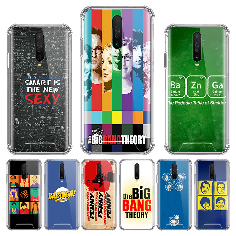 The <font><b>Big</b></font> <font><b>Bang</b></font> Theory bazinga <font><b>Case</b></font> for Xiaomi Redmi Note 9S 8T 9 Pro Max 8 7 6 7A 6A K20 K30 Pro Zoom Airbag Anti Bag <font><b>Phone</b></font> Cover image