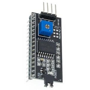 Image 4 - 20PCSC PCF8574 IIC I2C Tiếng TWI SPI Giao Tiếp Nối Tiếp Ban Cổng 1602 2004 Màn Hình LCD LCD1602 Adapter Tấm Màn Hình LCD Bộ Chuyển Đổi mô Đun