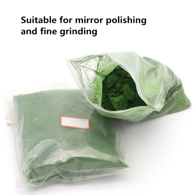 50g Jade Emerald Agate Polishing Powder Glass Composite Chromium Oxide Power 448A