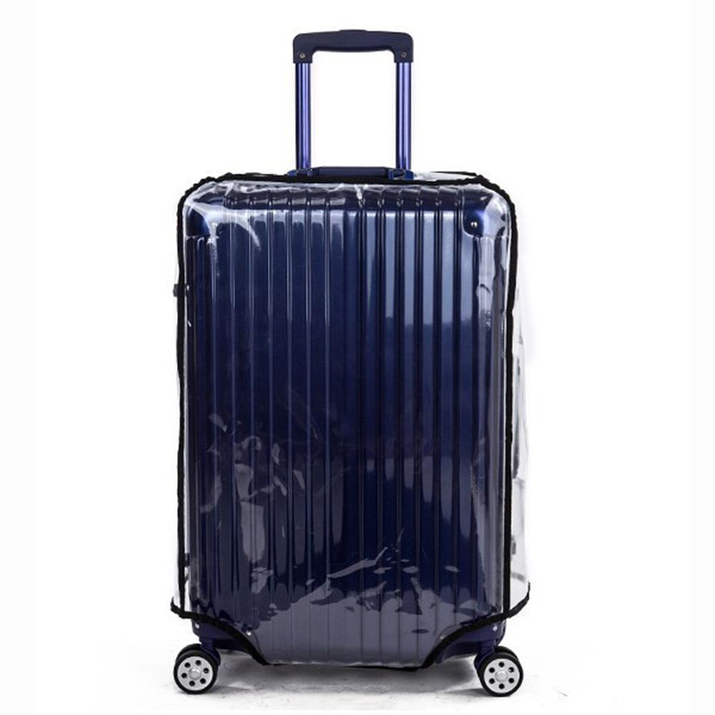 Luggage Case Suitcase Protective Cover Transparent Cover 20 22 24 26 28 30 Dust Bag Covers Case For Travel Suitcase Accessories