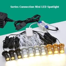 Cabinet-Lamp Stair-Lighting Connection Led-Spotlight Showcase Light-Spot Corridor Mini