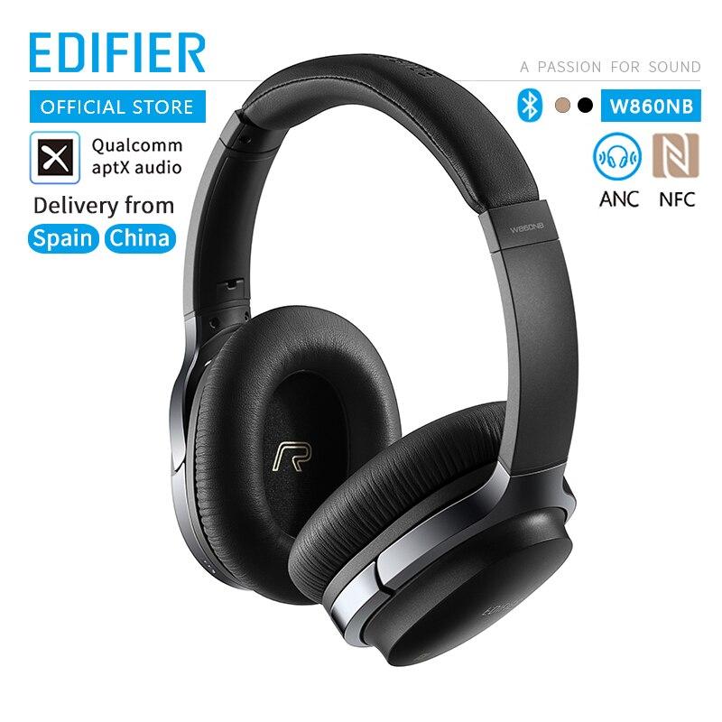 EDIFIER W860NB écouteurs Bluetooth prise en charge du contrôle tactile ANC appairage NFC et décodage audio aptX écouteur sans fil tactile intelligent