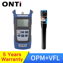 Buy Fiber optic tool kit FC/SC Connector VFL OPM Optical Power Meter Laser Source and Visual Fault Locator 1/10/20/30mW 5-30km directly from merchant!