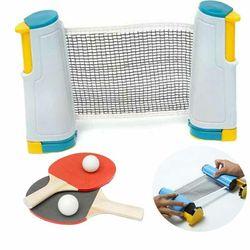 Stół siatka tenisowa ping pong zestaw chowany stojak netto przenośne narzędzia sportowe