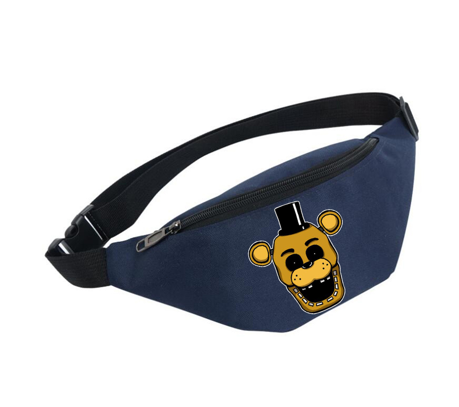 Belly Bags Unisex Fanny Pack Women Belt Waterproof Chest Handbag Waist Bag Ladies Waist Pack For Anime Five Nights At Freddy's