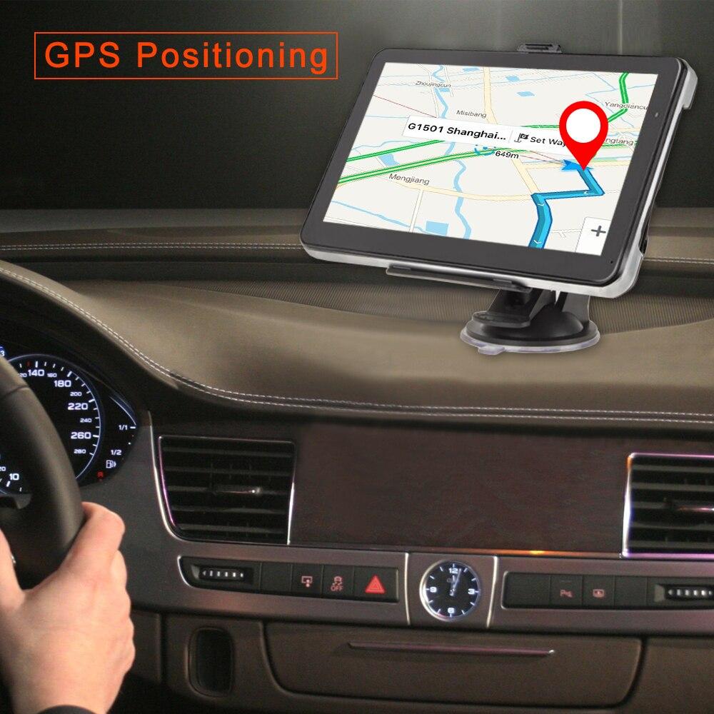 PODOFO 7 inch Car GPS Navigation Win CE Media Capacitive screen FM 8GB Vehicle Truck GPS Car navigator