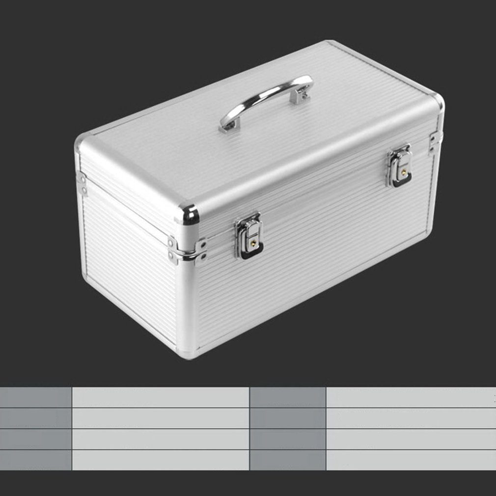 Aluminum Alloy Hard Disk Protection Box Dual-purpose Hard Disk Storage Box Hard Disk Box Security Lock