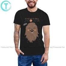 Chewbacca t camisa chewbaccait não é sábio para perturbar um wookie camiseta 100 algodão homem camiseta incrível tshirt