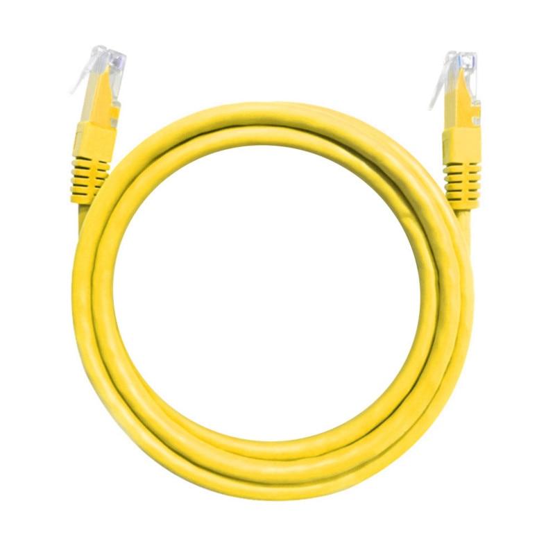 RJ45 CAT-5e RJ45 Ethernet Network LAN Cable 1m 2m 3m 5m 10m 15m Ethernet Network Cables Cable Yellow 100M/328ft Patch Lead Cord