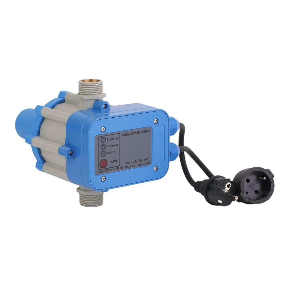 C50MIT Electronic Water Pump Automatic Pressure Control Switch Water Pump Pressure Controller With EU Plug&Cables