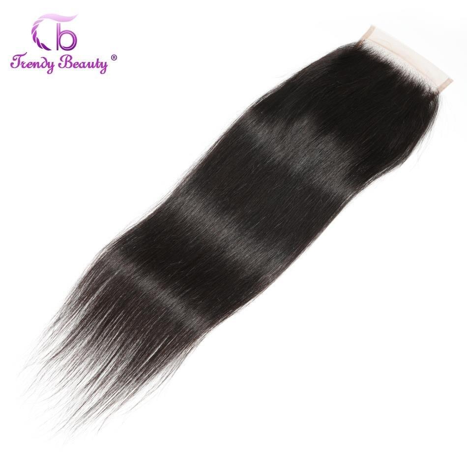 Перуанские прямые человеческие волосы со шнуровкой, средние/три/свободная часть, 4x4 Реми, можно окрашивать 8-22 дюйма, модная красота
