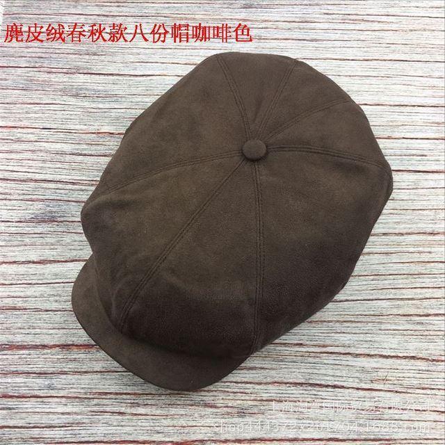 Cappello da uomo edera taglie forti testa grande uomo primavera estate e autunno berretto da Newsboy berretti di lino berretti piatti di lana invernale 55-59cm 60-61cm