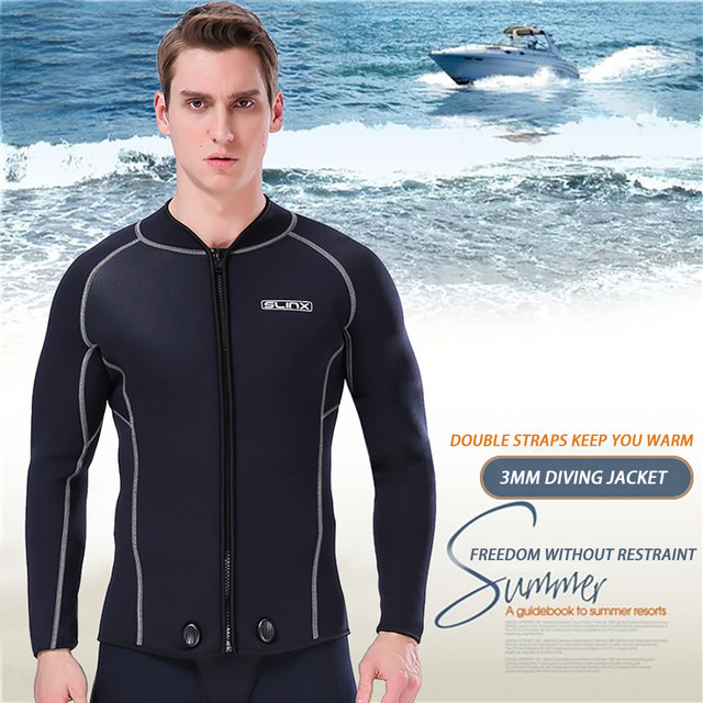 Fashion MEN WetSuit 3MM Full Body suit stretch Diving Suit Swim Surf Snorkeling Lose Weight T-shirts Mysterious High Quality  F1
