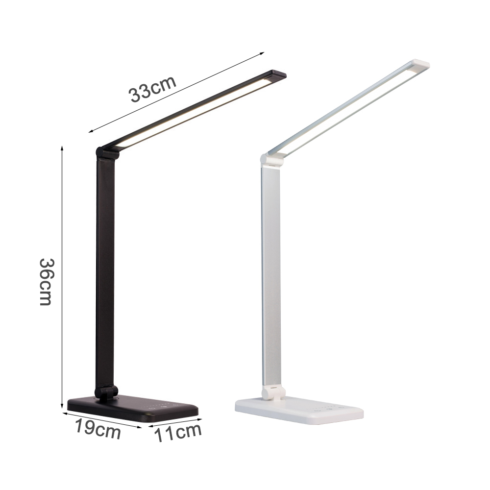New LED Table Desk Lamp Wireless Charging Creative Eye Protection Multi-Function Reading Light For Mobile Phone charge