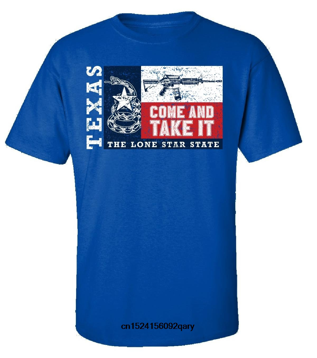 Men Funny T <font><b>Shirt</b></font> Women Cool tshirt Texas Flag Come And Take It Gun Ar15 <font><b>Ar</b></font> 15 Texan - Adult <font><b>Shirt</b></font> image