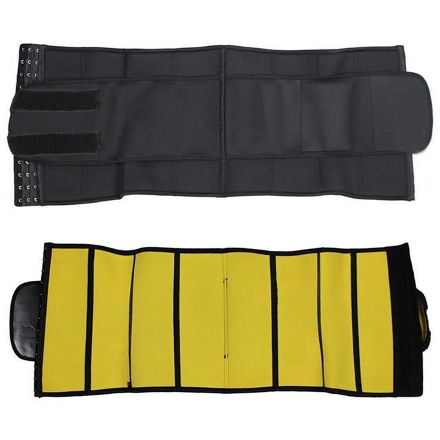 New Diving Material Yoga Sports Sweat-abdominal Belt Ladies Large Size Neoprene Corset Corset Women Waist Trainer Body Shapers 5