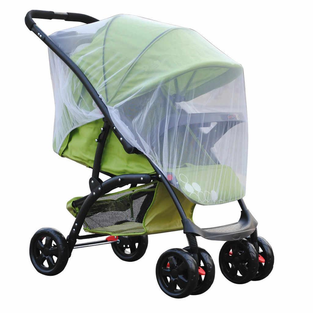 Carrinho de criança carrinho de bebê mosquiteiro mosca inseto net malha buggy capa para bebê infantil cuidados com o bebê sombra protetor solar mosquito capa nova