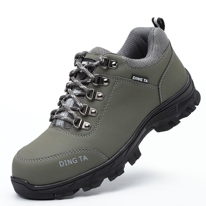 Mens Safety Work Shoes Casual Boots Hiking teel Toe Trainers Sneakers Outdoor Sz