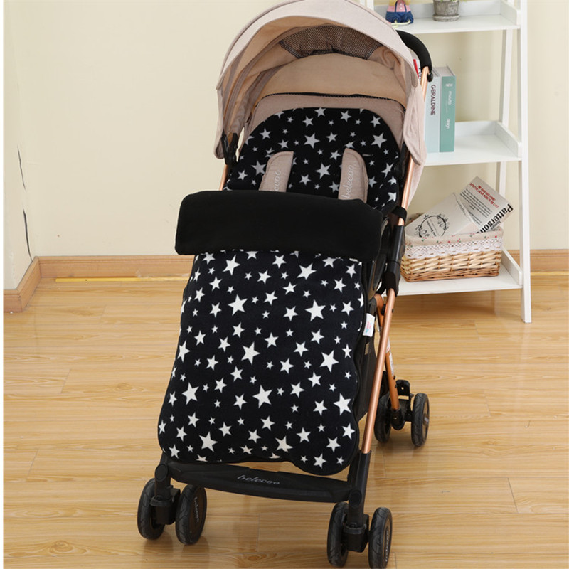 Footmuff Baby Infant Carriages Foot Covers Baby Pram Muff Case Bag Socks Pad Winter Autumn Stroller Accessories Saco Carro Bebe