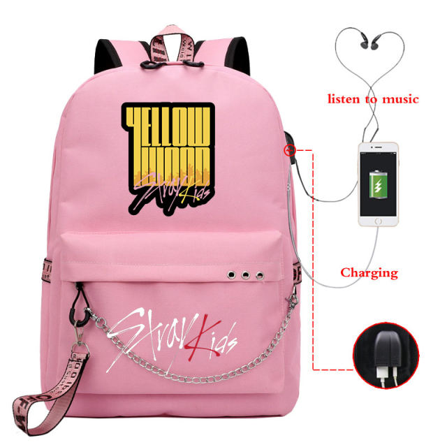 STRAY KIDS MIROH THEMED BACKPACK (28 VARIAN)