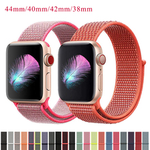 Strap For Apple Watch 5 bands 4 44mm 40mm Sport Loop Bracelet Compatible Woven Nylon Watchband For iwatch 3/2/1 Series 42mm 38mm nylon sport strap for iwatch 5 woven sport loop band for apple watch band 38mm 40mm for iwatch bands 42mm 44mm series 5 4 3 2 1