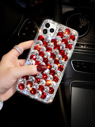 Luxury Bling Colorful Stone Crystal Capa <font><b>Cases</b></font> for <font><b>Samsung</b></font> S20 S10 S9 S8 Plus Note10 Note9 <font><b>Note8</b></font> Diamond Coque Fundas image